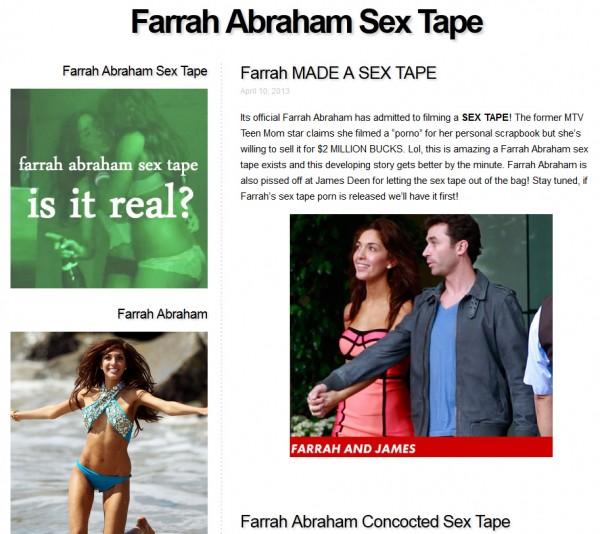 farrah abraham sex